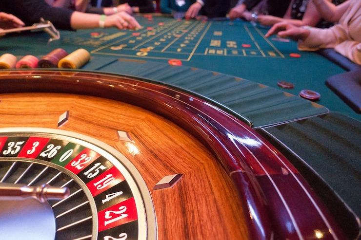 Roulette Tisch in einer Spielbank