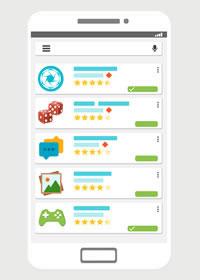 Im Google Play Store gibt es Casino Apps